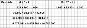 Natürliche Zahlen Englisch